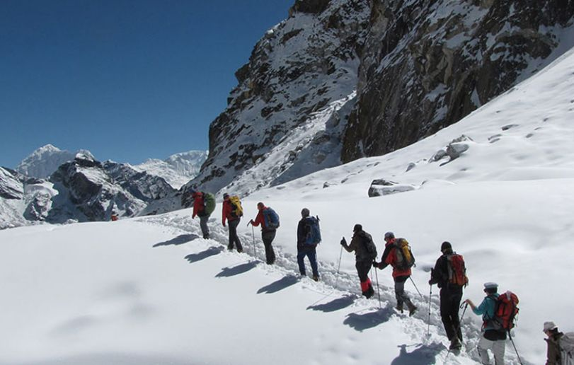 Gokyo Everest Trek with optional Island peak