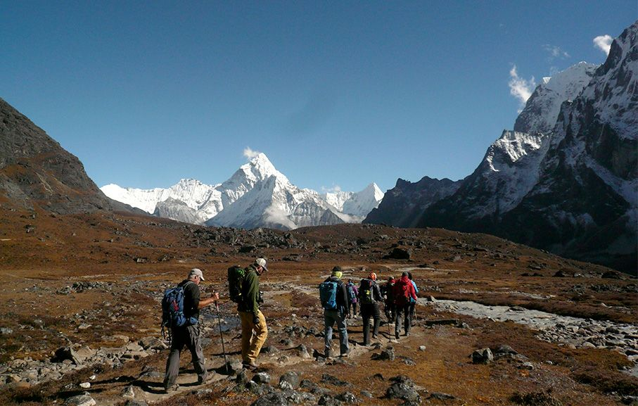 Three pass trek along with Everest Base Camp