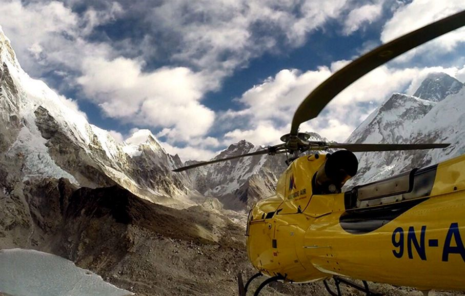 Majestic Everest Helicopter Tour
